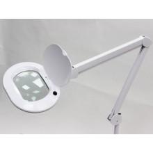 Лампа-лупа настольная 6028 LED 3D