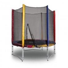 Батут KIDIGO™ 244 см. с защитной сеткой