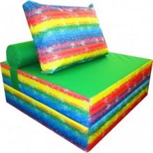 Бескаркасное кресло-кровать Радуга 2