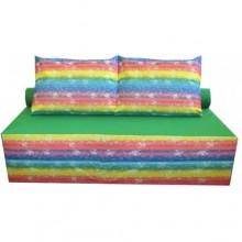 Бескаркасный диван-кровать Радуга 3