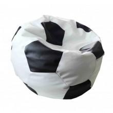 Кресло-мешок Мяч футбольный Maxi (чёрно-белый и красно-оранжевый)