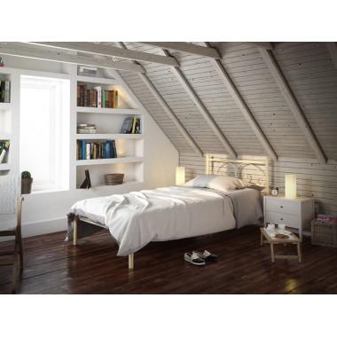 Металлическая кровать Иберис Мини