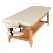 Масажний стіл стаціонарний дерев'яний MAT