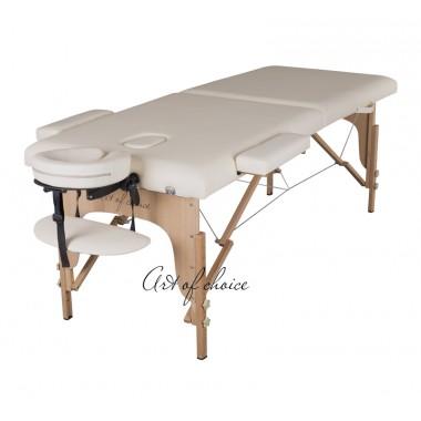 Массажный стол TEO (беж, фиолетовый, синий)