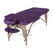 Массажный стол MIA (беж, фиолетовый, чёрный, синий)